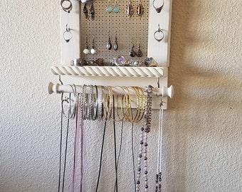 The Mini Wall Jewelry Organizer