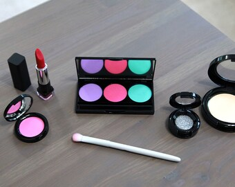 Pretend Makeup Set For Your Munchkin - Fake Makeup - Little Girl Gift  - Toddler Makeup - Play Makeup - Easter Gift