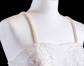 Pearl Attachable Bridal Straps - ELIZA