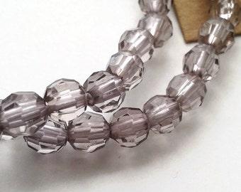 Grey elasticated bracelet duo
