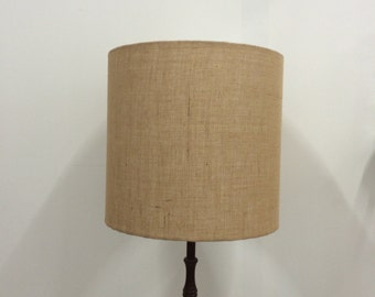 Lamp shades etsy hessian lampshade natural lamp shade handmade lamp shade natural decor table lamp aloadofball Images