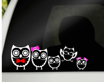 Cat Family Car Decal Vinyl Decal Cat Family Decal Family - Vinyl stickers for car windows