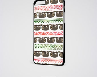 Sloth iPhone 6S Case, Sloth iPhone 6 Case, Sloth iPhone X Case, Sloth iPhone 6 Plus, Sloth iPhone 8 Case, Sloth Gift iPhone 7 Plus Case