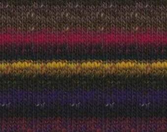 Noro Kureyon  #368  100% Wool Black, Wine, Purple