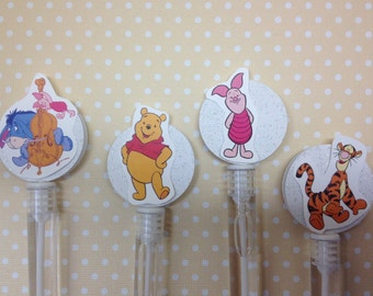 Winnie The Pooh Party Favor Bubbles - Set of 10