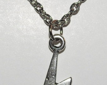 Harry Potter Inspired Lightning Bolt Necklace