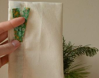 Small Drawstring Muslin Laundry / Delicates Bag
