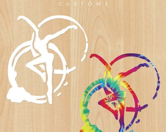 "DMB Inspired Coffee Stains + Dancer 5"" Vinyl Decal"