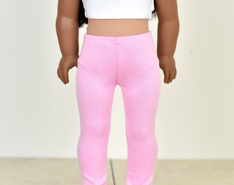 18 inch doll clothes Leggings Color Light Pink