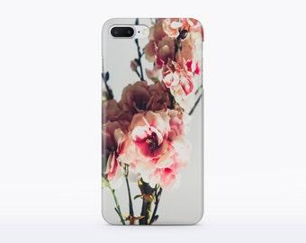 Flower iPhone 7 Case Floral iphone 7 Plus Case iPhone 6s Case iPhone 6 Case Plastic iPhone 6s Plus Case iphone 6 plus iPhone 5 Case Matte CM