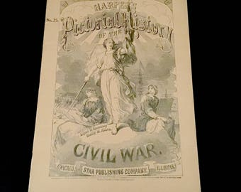 1894 Vol. 25- Harpers Pictorial History of the Civil War         VG2664