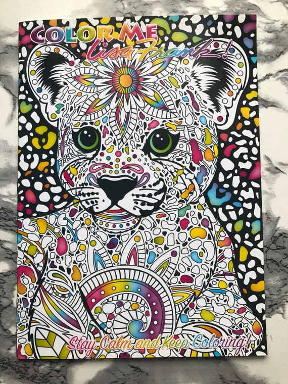 Tiger CoverLisa Frank 39 Stay Calm