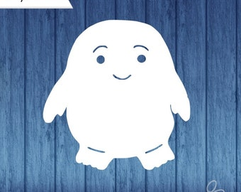 Adipose Decal, Doctor Who, Doctor Who decal, Adipose Car Decal