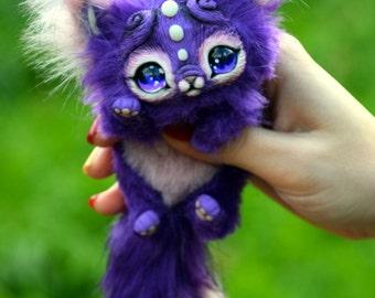 Small Purple Kitten