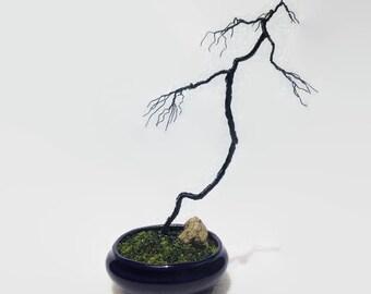 Wire Bonsai Tree - Literati (Bunjin) style