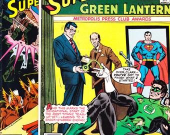 DC Comics Presents comic lot of 6 and 7. Superman, Green Lantern, Red Tornado, Superhero, Vintage Bronze Age. 1979 DC Comics in VF (8.0)