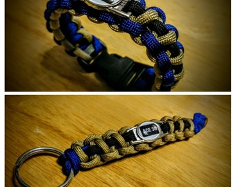Ace 30 Memorial Paracord Bracelet and/or Keychain