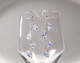 Swarovski Crystal Falling Stars Earrings