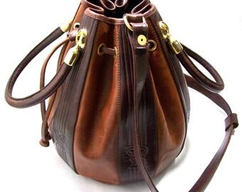 Brown leather Bag, Women's leather bag, Shoulder leather bag, Handbag