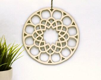 Wooden Mandala | Sacred geometry | mandala decors  | wooden mandalas | arabic mandalas | wood hangings | mandalas