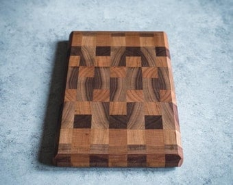Small Butcher Block Cutting Board