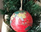 red globe ornament