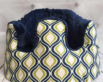 CLOSEOUT Olive & Navy Bumbo Cover