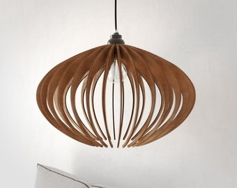 Pendant light wood lamp ceiling fixture dining light wood pendant light wood chandelier wood ceiling lamp modern chandelier ceiling fixture aloadofball Gallery