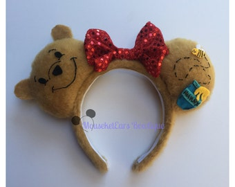 Winnie the Pooh inspired Mouse Ears