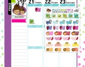 Vegetable Pun Stickers | Food Planner Stickers | Word Art Planner Stickers | Sarcastic Planner Stickers | 460