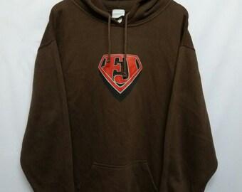 Vintage 90s//Freshjive//Hoodies//Sweater Sweatshirt//Streetwear//Size M //Oversize //Baggy//Made In Usa