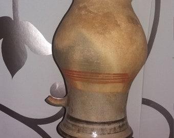 earthenware pendant lamp, hendmade
