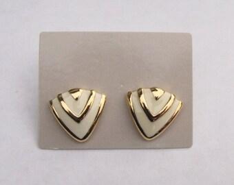 Avon Abstract Style Pierced Earrings