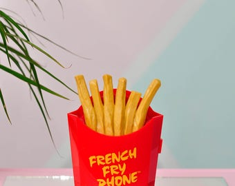 """Vintage """"French Fry Phone"""" from Nestle - Pop Art Chic!"""