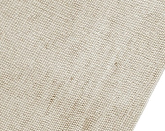 "Indian Fabric, Burlap Fabric, Home Decor Burlap, Beige Burlap Fabric, Sewing Crafts, 52"" Inch Wide Jute Fabric By The Yard ZJC22A"