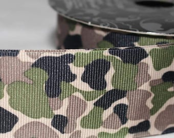 """Camo Design 1.5"""" Collar with Side Release Buckle (Martingale Option Available)"""