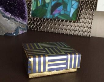Small Handmade Gift Box, Gift Box with Lid