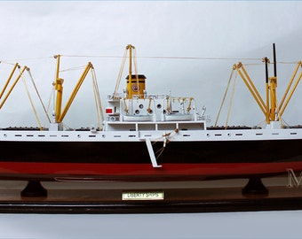 US Navy Liberty Cargo Ship WW2 Display Model NEW