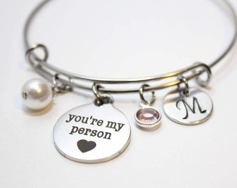 your my person bracelet, your my person bangle, your my person jewelry, your my person gift, your my person charm bracelet, your my person