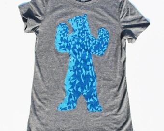 Colorado Blue Bear - Colorado Flag Shirt - Vintage Colorado - Womens Shirt