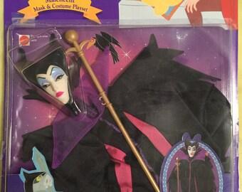 Maleficent costume for Barbie, 1991 Mattel