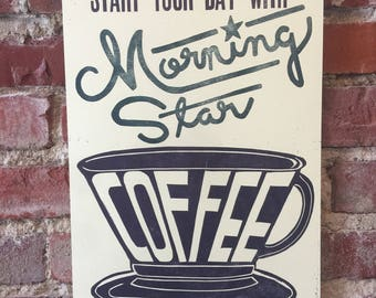 Coffee Letterpress Print