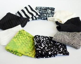 Tie headband, set of 2 women headband, stretchy headband for women, hair band, colorful headband women, adult headband,