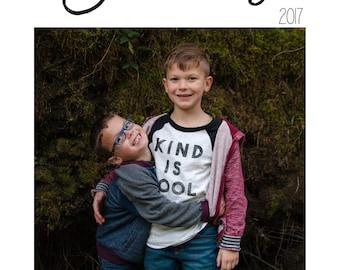 The 2018 Emily Calendar Custom Cover Template 5x7