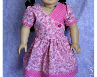 18 Inch Doll Clothing 1930's Flour Sack Frock Dress