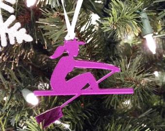 Purple Female Rower