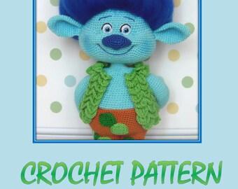 Branch - Amigurumi Crochet Pattern by Maria Amelina