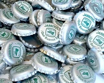 100 Jarritos Recycled Soda Bottle Caps
