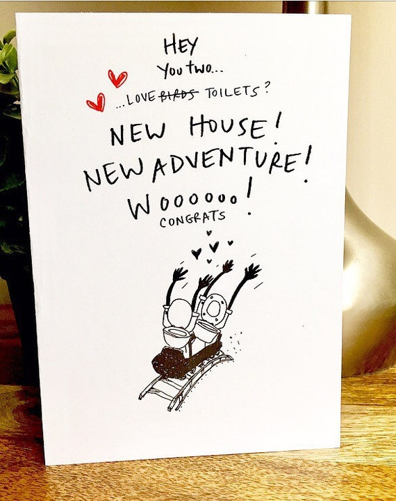 Congrats On The New House Card New House Card Housewarming