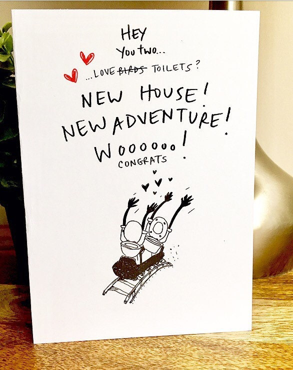 Congrats New House congrats on the new house card new house card housewarming
